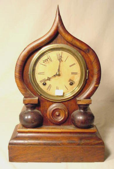 2022: Ingraham Oriental 8 Day Shelf Clock NR