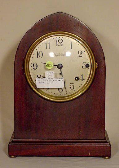 Seth Thomas 8 Bell Sonora Chimes Clock NR
