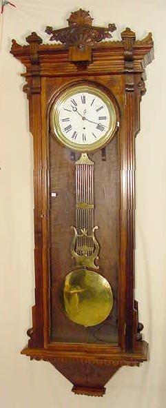 2118: Waterbury # 9 Jewelers Regulator Clock NR