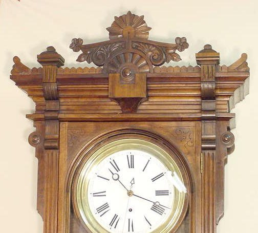 2118: Waterbury # 9 Jewelers Regulator Clock NR - 2