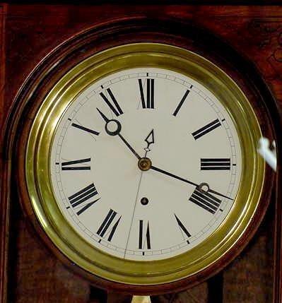 2118: Waterbury # 9 Jewelers Regulator Clock NR - 5