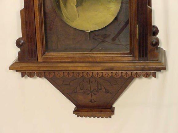 2118: Waterbury # 9 Jewelers Regulator Clock NR - 7