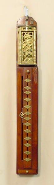 2180: Japanese Pillar Clock NR