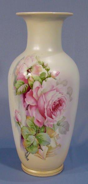 15: Crown Victoria Austrian Pottery Vase NR