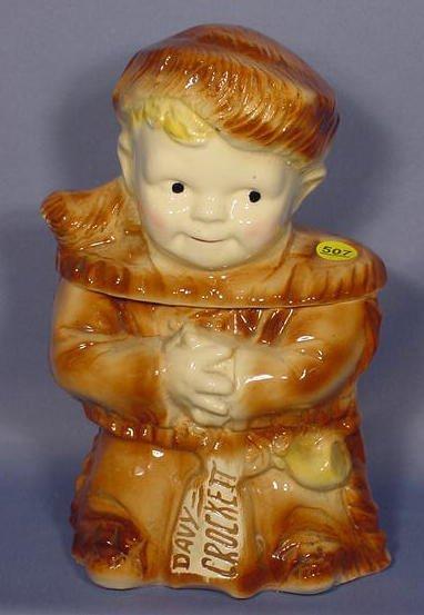 507: Davy Crockett Cookie Jar NR