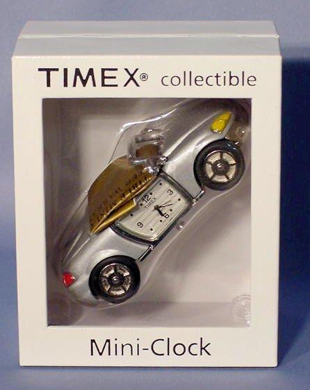 513: Timex Collectible Mini Car Clock NR