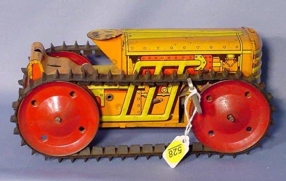 528: Marx Tin Litho Bulldozer NR