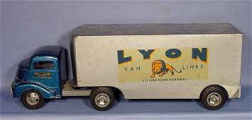 617 Lyon Van Lines Toy Truck and Trailer NR