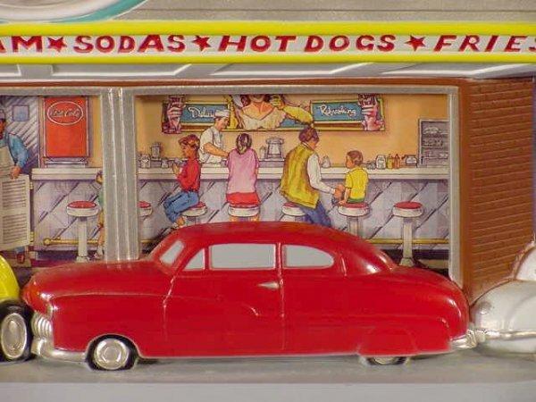 938: Coca Cola Family Drive In Clock NR - 3