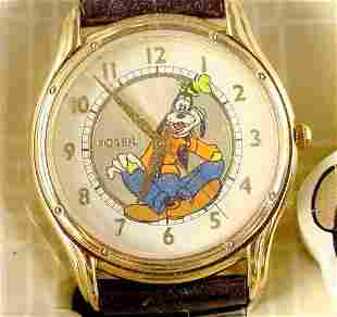 Fossil Gold Edition Goofy Watch in Original Tin