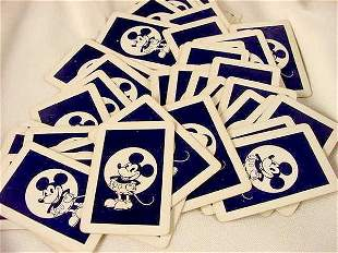 52 pc Mickey Mouse Card Deck NR