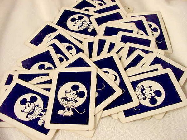 2012: 52 pc Mickey Mouse Card Deck NR