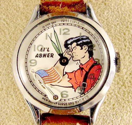 2019: 1951 New Haven Li'l Abner Wrist Watch NR