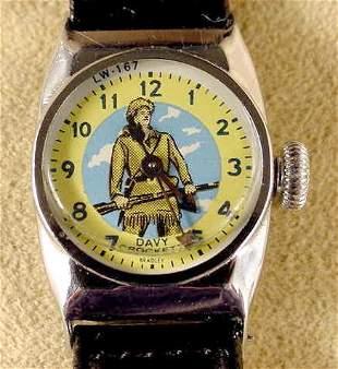 Bradley Davy Crockett #LW-167 Wrist Watch NR