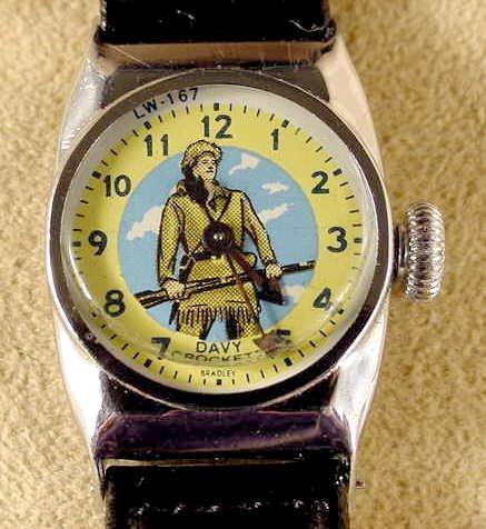 2021: Bradley Davy Crockett #LW-167 Wrist Watch NR