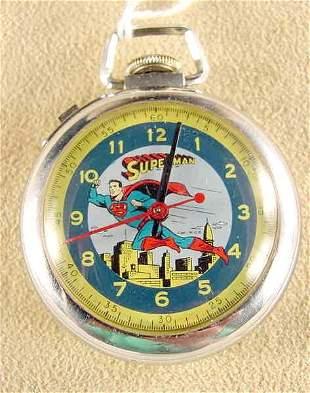 Ingersoll Superman Pocket Watch N.C.P. (NR)