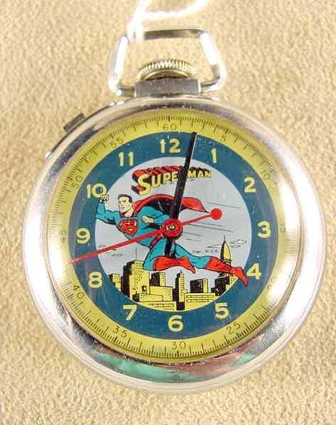 2023: Ingersoll Superman Pocket Watch N.C.P. (NR)