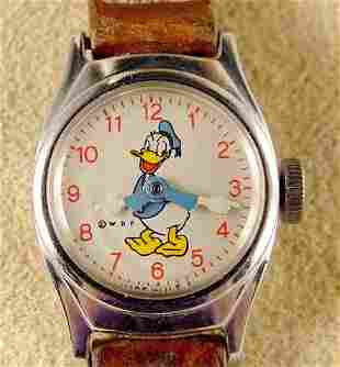 1955 Timex Donald Duck Child's Watch NR