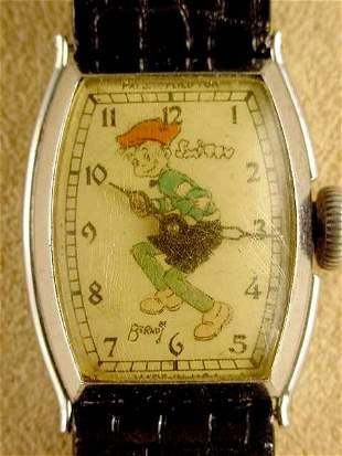 1935 New Haven Smitty Wrist Watch NR