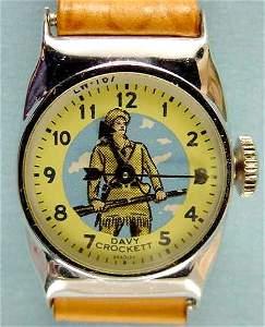 2083: 1958-62 Bradley Davy Crockett Wrist Watch NR