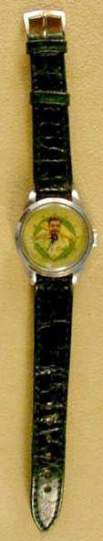 2087: 1949 Exacta Babe Ruth Wrist Watch & Baseball Case - 3