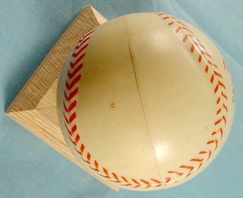 2087: 1949 Exacta Babe Ruth Wrist Watch & Baseball Case - 6