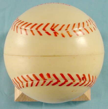 2087: 1949 Exacta Babe Ruth Wrist Watch & Baseball Case - 7
