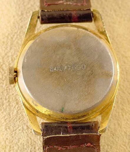 2387: 1974 American Time Nixon I'm Not A Crook Watch NR - 2