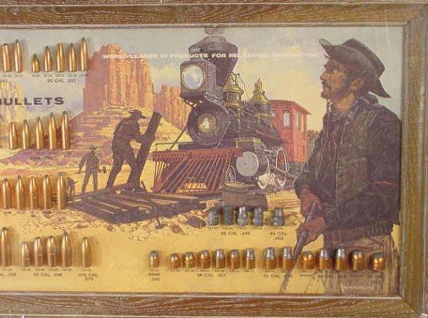 1113: Speer Bullet Board with 81 Slugs Displayed NR - 3
