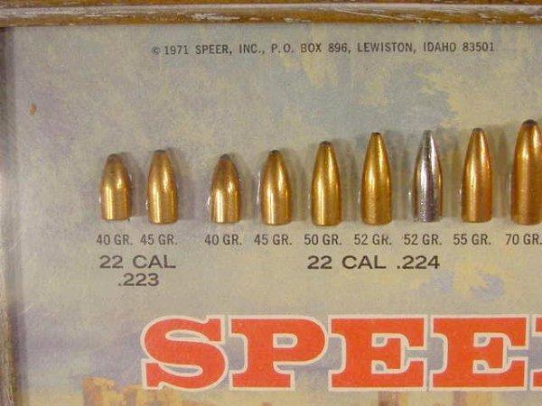 1113: Speer Bullet Board with 81 Slugs Displayed NR - 4