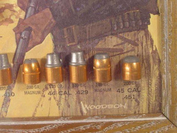 1113: Speer Bullet Board with 81 Slugs Displayed NR - 5