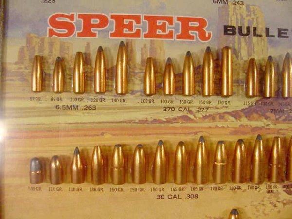 1113: Speer Bullet Board with 81 Slugs Displayed NR - 6