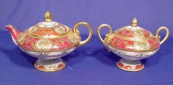 521: 2 Piece Teapot & Covered Sugar NR