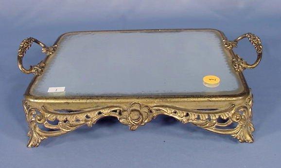 1: Rectangular Handled Plateau Mirror NR