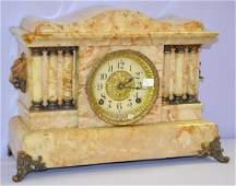 Antique Seth Thomas Adamantine 6 Column Clock
