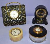 Group of 4 Collectible Novelty Clocks