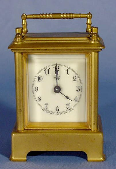 2: Waterbury Carriage Clock NR