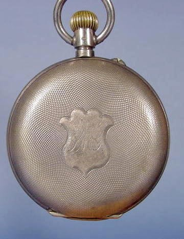 5: Swiss Extra Pocket Watch W/ H P Religious Dial
