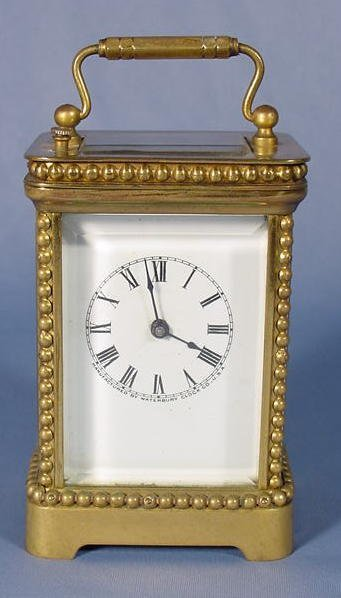 "6: Waterbury Carriage Clock ""Scion"" NR"