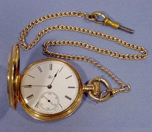 16: Elgin Dexter Street S10 KW/KS Pocket Watch NR