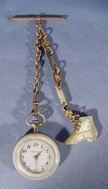 24: Lady Tess Stem Wind Pocket Watch NR