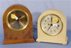 132 Two Hamilton Sangamo Electric Wall Clocks NR