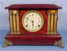 254 Seth Thomas Adamantine Mantel Clock NR