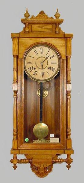 511: Ansonia Queen Elizabeth Wall Clock NR