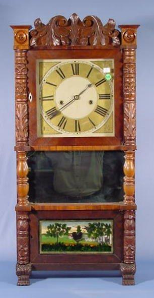 517: B.B. Lewis Triple Decker Clock