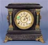 762 Seth Thomas Adamantine Mantel Clock NR