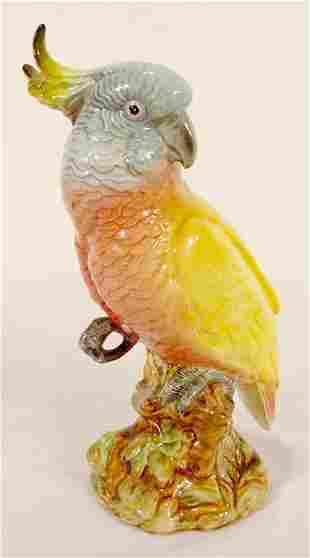 Full Figural Beswick 1180 Parrot NR