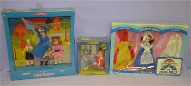 3 Collectible Dolls in  Boxes, Patty Duke +