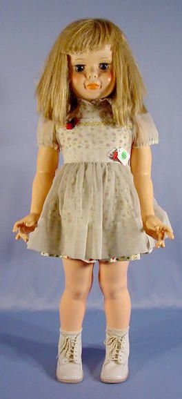 1223A: All Plastic Sayco Child Doll, 33""