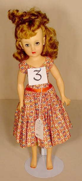 3: Ideal Vinyl & Plastic Doll VT-20 NR